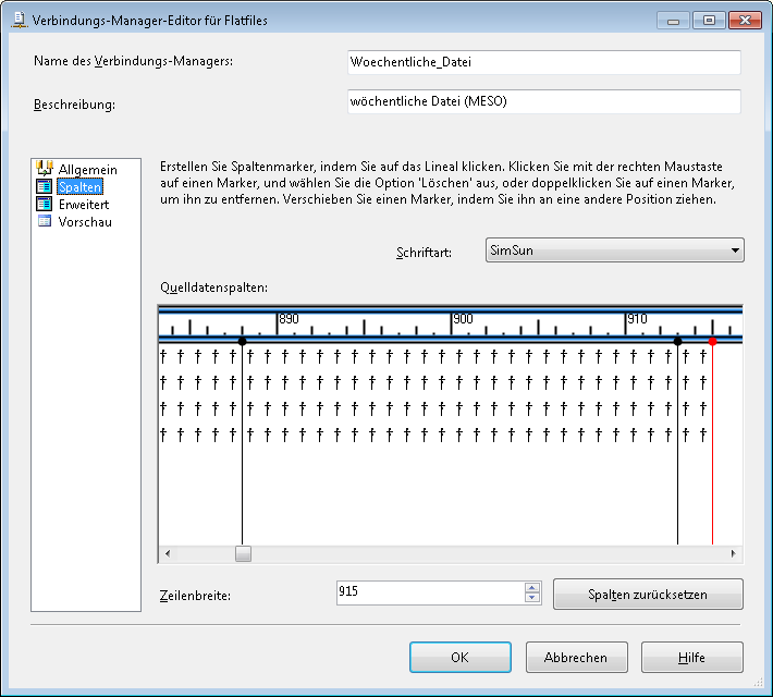 ssis - problem by the import of a utf8-file with special ...