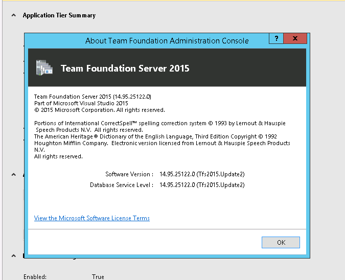 How to update Product Key for TFS 2015 2 ?