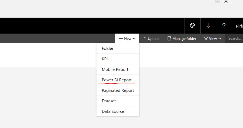 Setting Up Power BI Desktop /SSRS