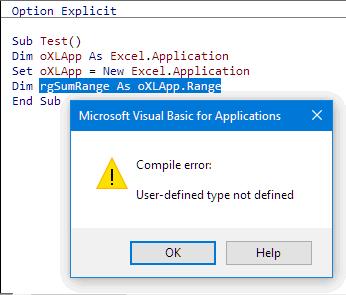 Excel VBA WorksheetFunction.SUM Returning Zero or Errors