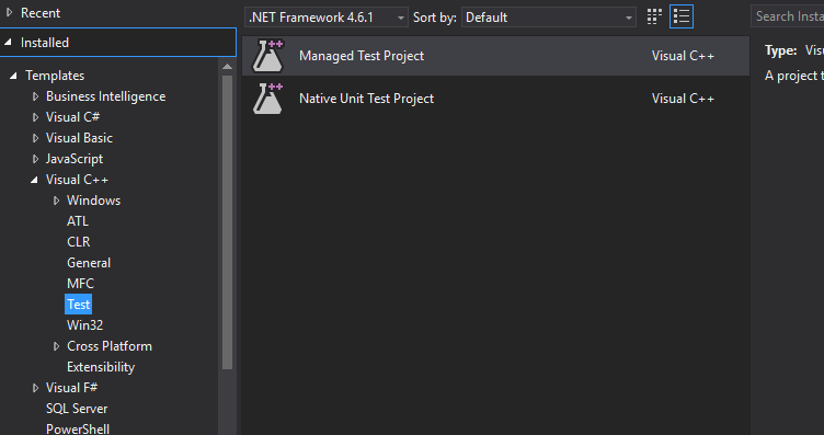 Visual Studio 2017 unit test files not installed with Build Tools