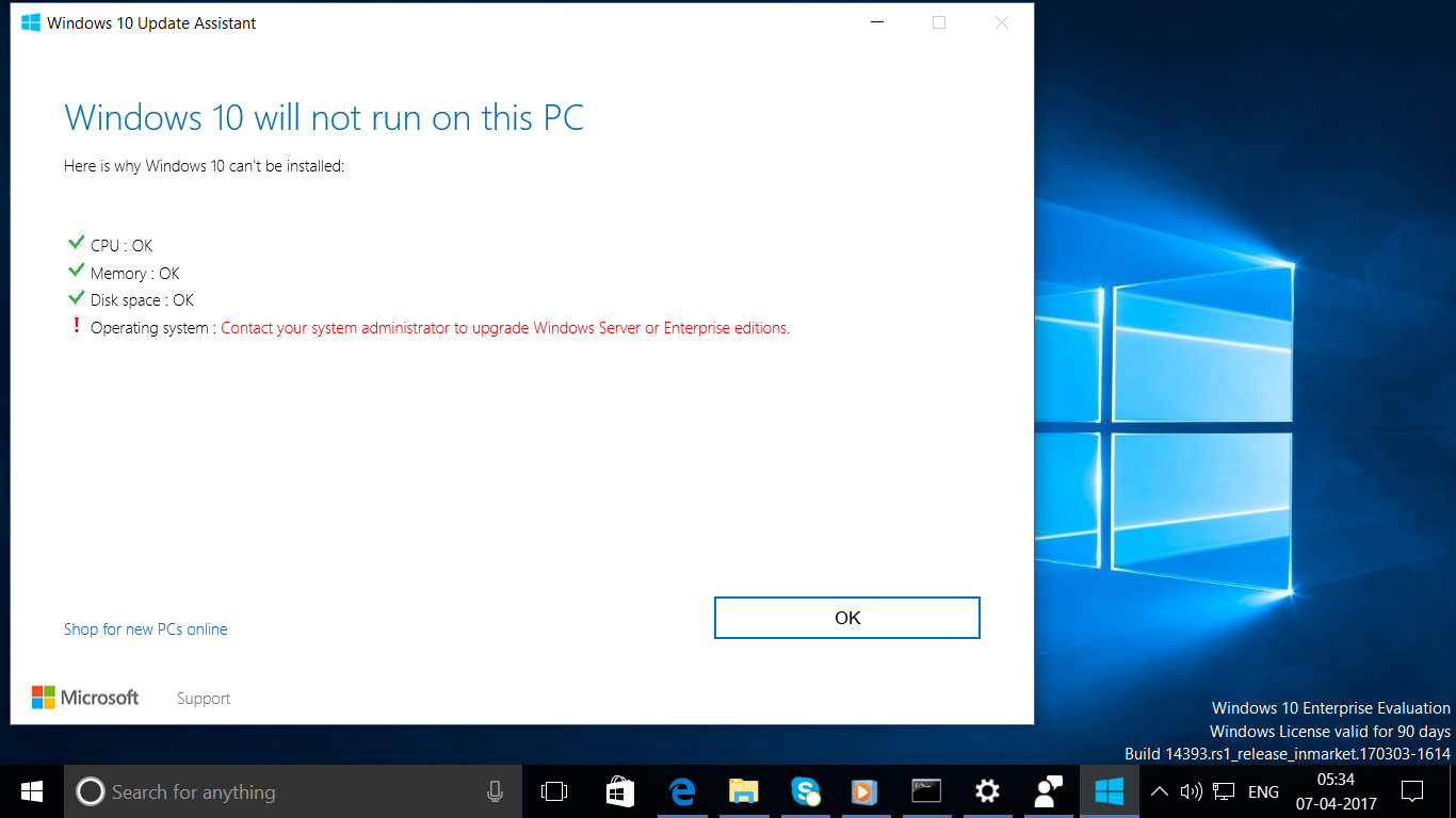 windows 10 enterprise trial
