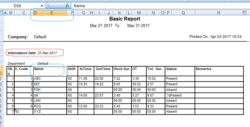 how to put word table into excel