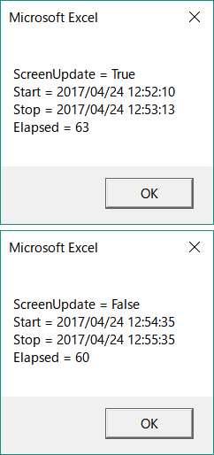 ActiveX controls are flickering when using VBA (with