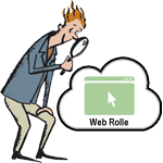Die Suche nach den Webseitenpfaden