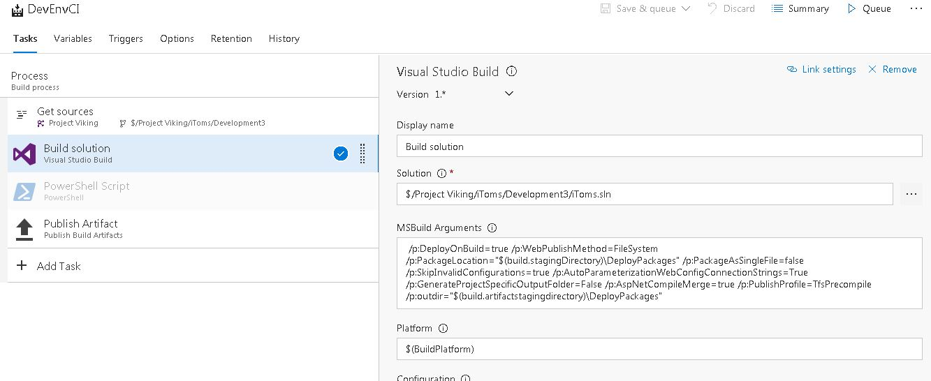 How to exclude App_Code folder from build artifacts?