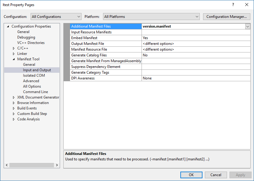 how to create manifest file in java