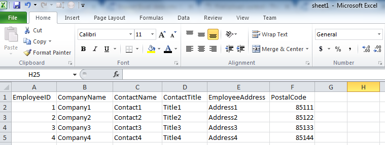 Import Excel data into SQL table (C#) Invalid Path