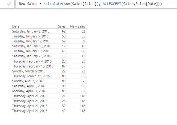 how to build a table of variables in excel