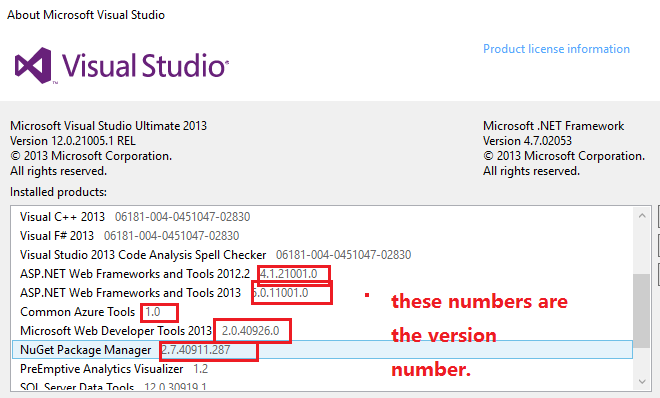 Microsoft Visual Studio Ultimate 2013 License