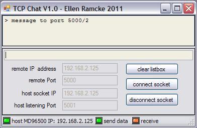 Muti-User TCP Send/Receive Sample