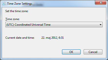 If UTC timezone, the datetimes is the same