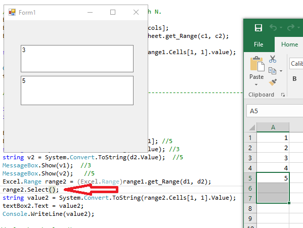 Using Excel.Range.get_Range() within a range, gives unexpected behavior