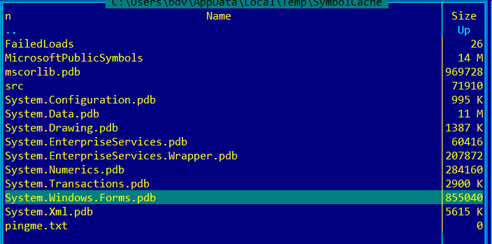 can t debug net system windows forms dll