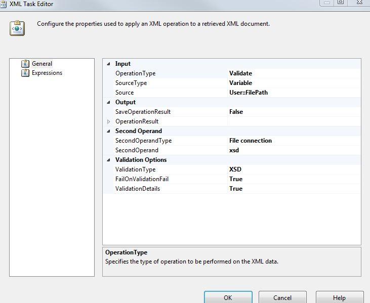 Validating xml documents reader