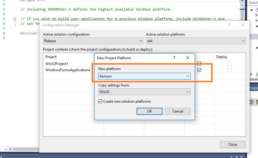 deploying a DLL (created in Windows 10) on Windows 2012 r2