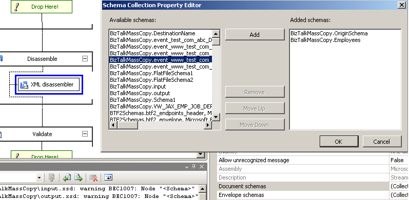 Receive multiple IDOC types (schemas) on the same receive location