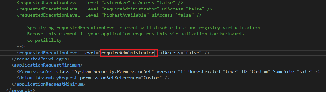 MS Utility EventTrace threw an exception