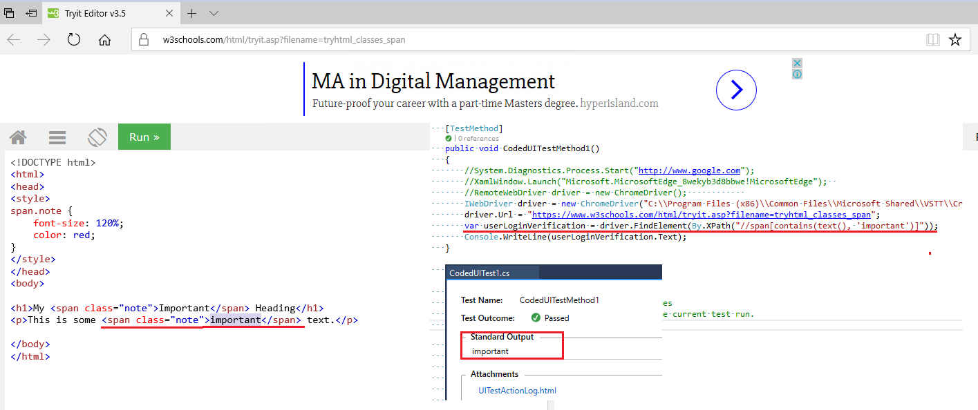 Selenium with C#: OpenQA Selenium NoSuchElementException