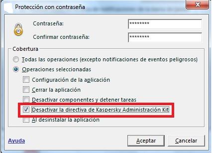 es algo como esto, algunos antivirus tienen estas opciones. y cuando tratas de desistalar te pide las credenciales
