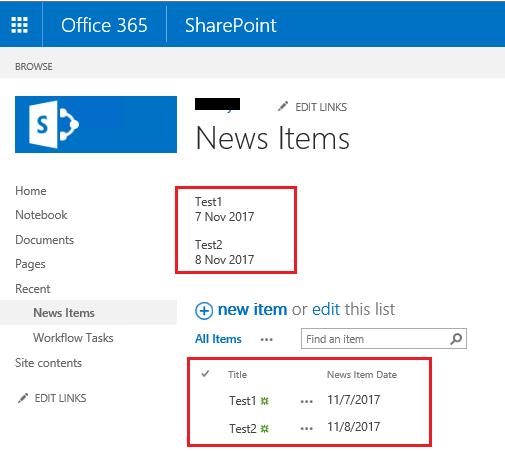 SharePoint 2013 - Rest API, Format Date Field