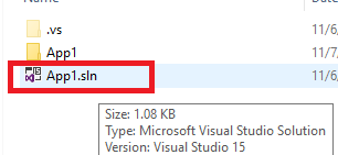 Opening an exe file using Visual Studio Pro