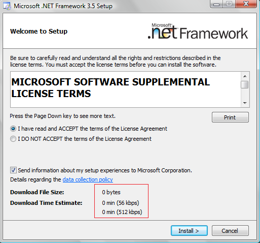 Net framework 3. 5 free download.