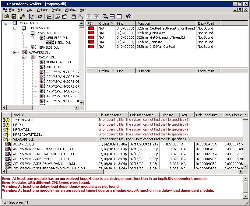 Working with 32 bit dll on 64 bit system
