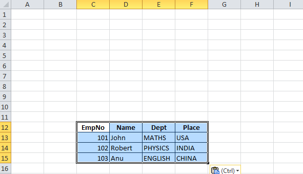 C# - How to write data in selected cell from datatable