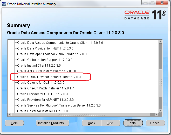 Install oracle client for SSIS