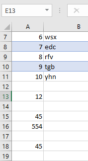counting the number of rows in excel sheet using C#