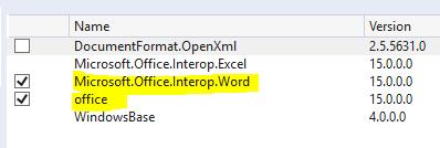 microsoft.office.interop msdn