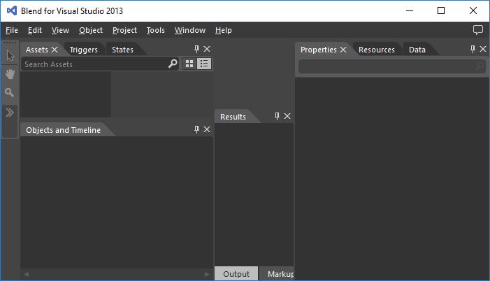 Screenshot of Blend VS