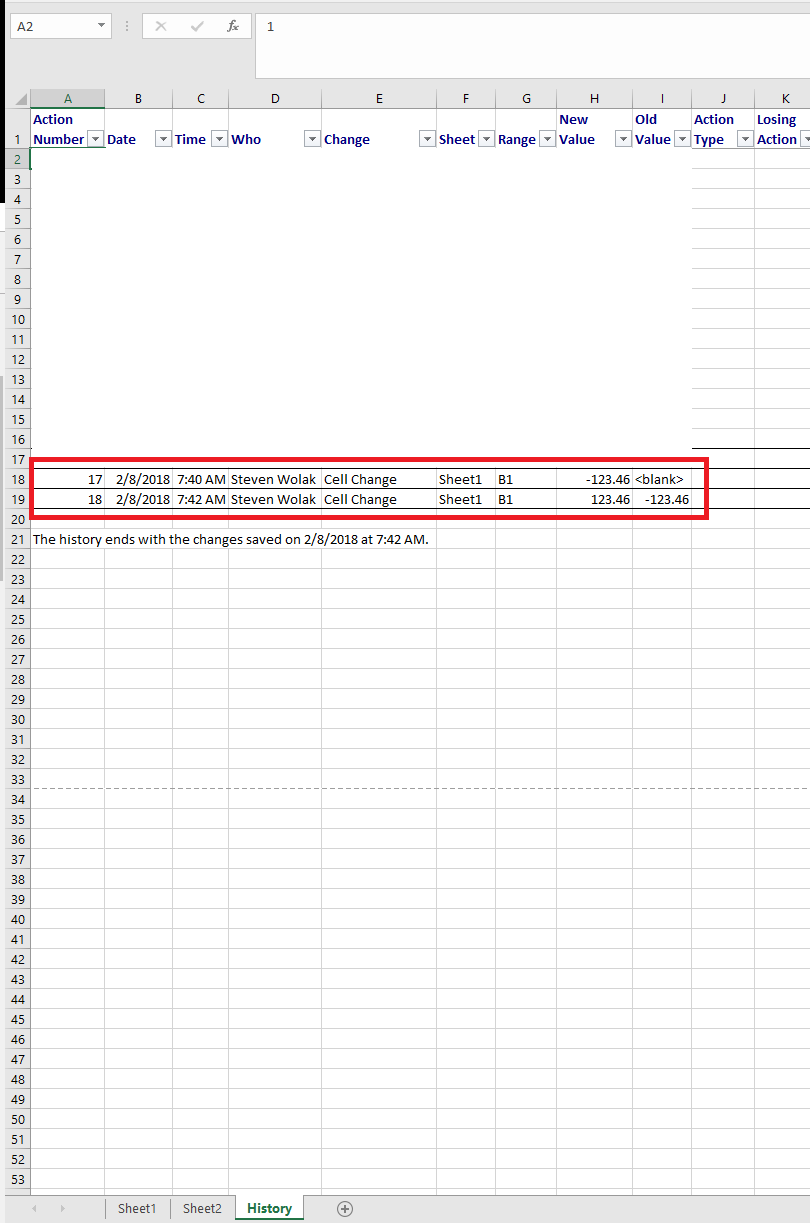 XLSX] Cell Number Format for Revision Information