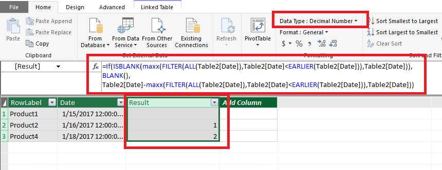 how to get datediff of previous row