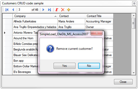 How to replace Datasourse navigator buttons with custome button