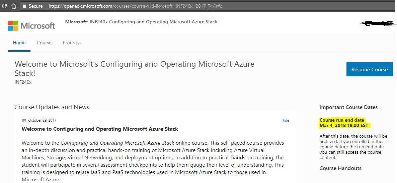 Azure Stack forum