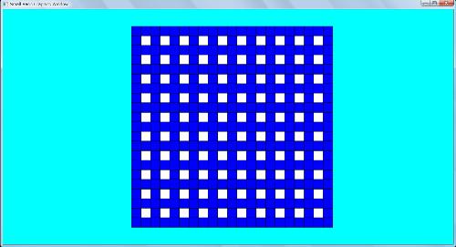 Sample Initial Maze Pattern