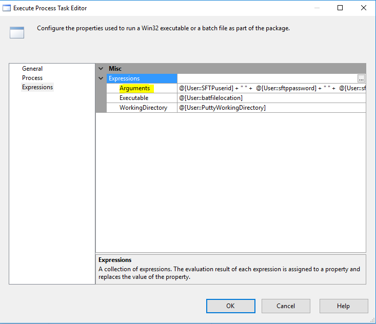SSIS - Update Batch file before I run it in package