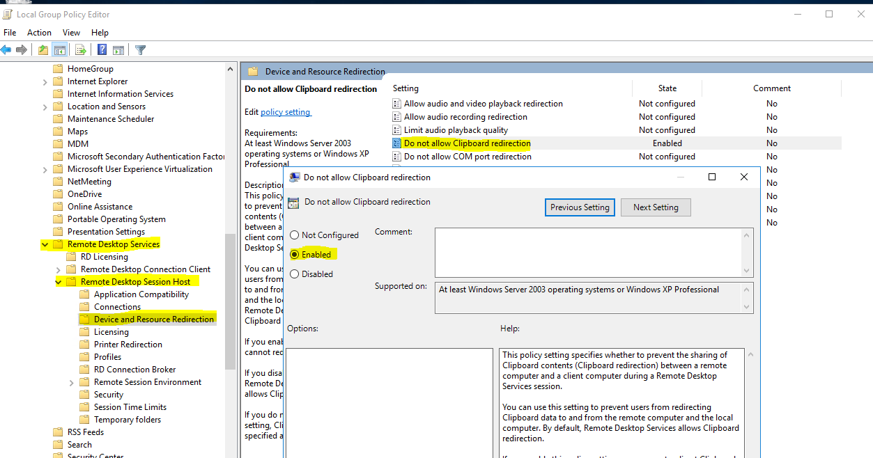 How To Disable Copy Paste In A Vm From Vm To Local Machines Which