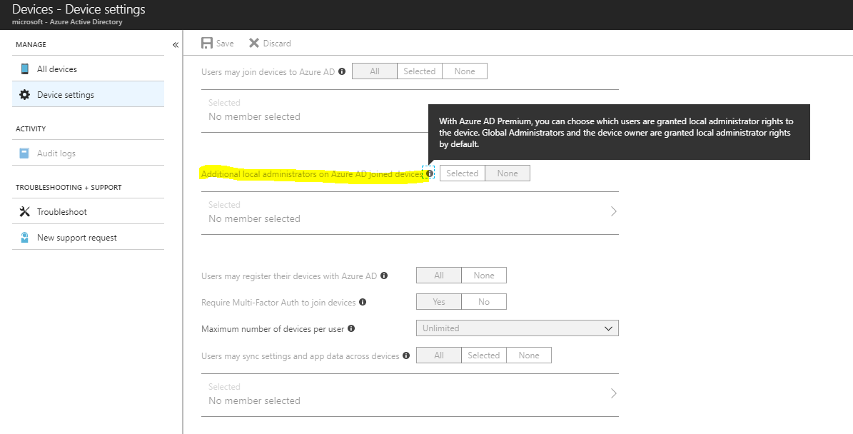 How to add poweruser / Additional local administrators on