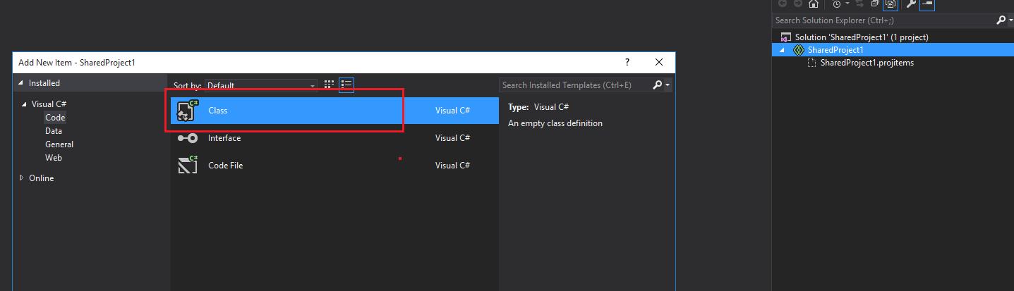 Visual Studio Template