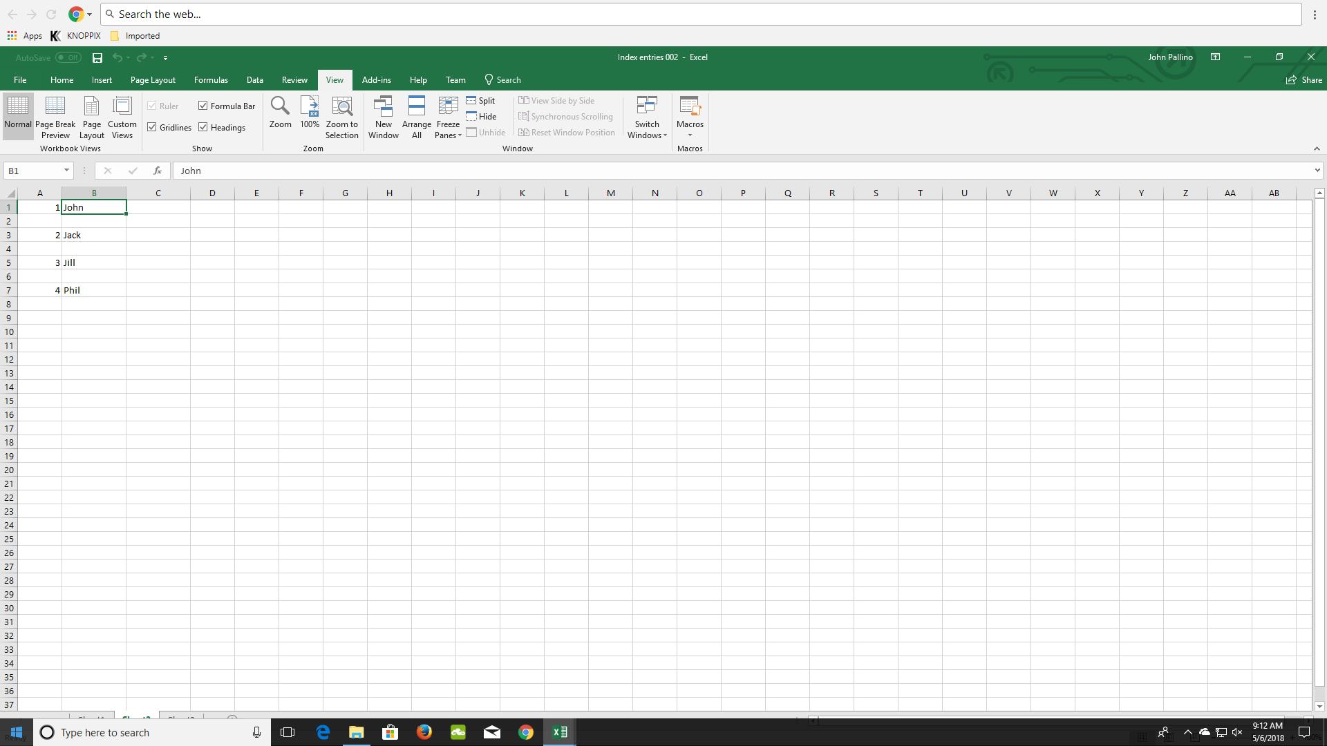 Improved Solution Excel VBA