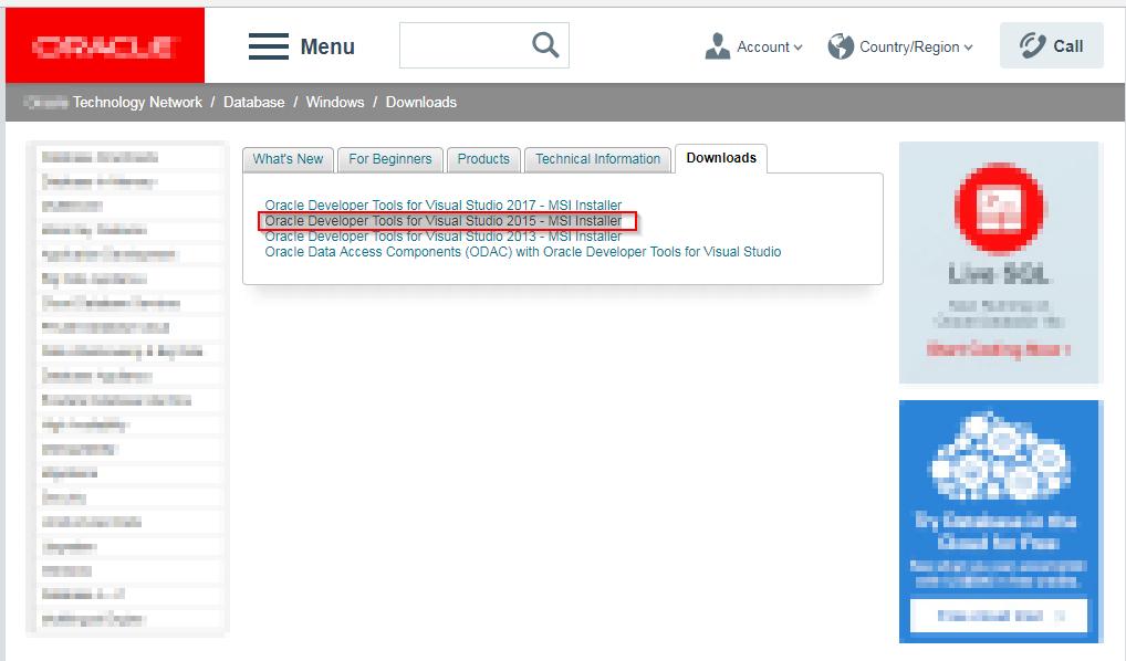 Error Oracle DataAccess