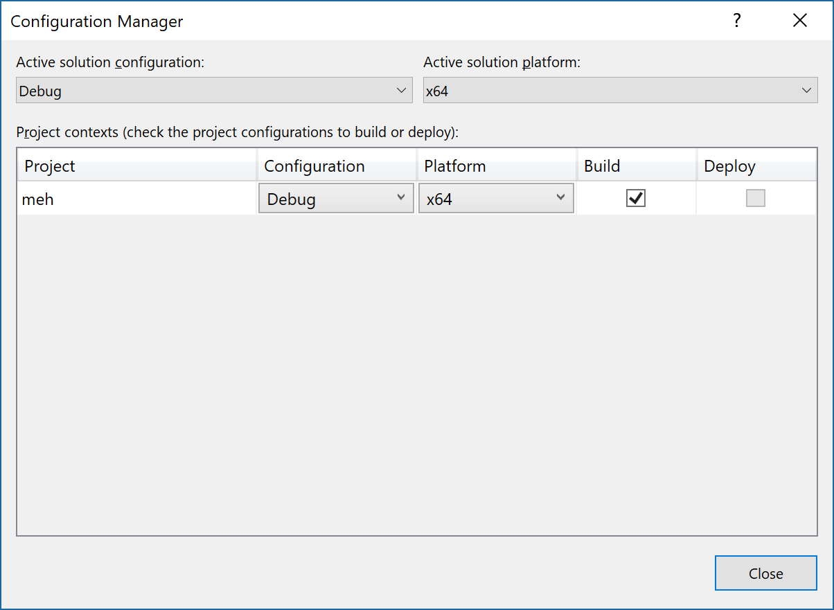 Release mode Application generating Debug Assertion Failed!