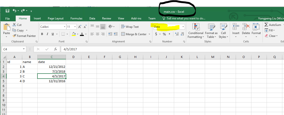 SSRS Export To Excel And Retain DataTime Format