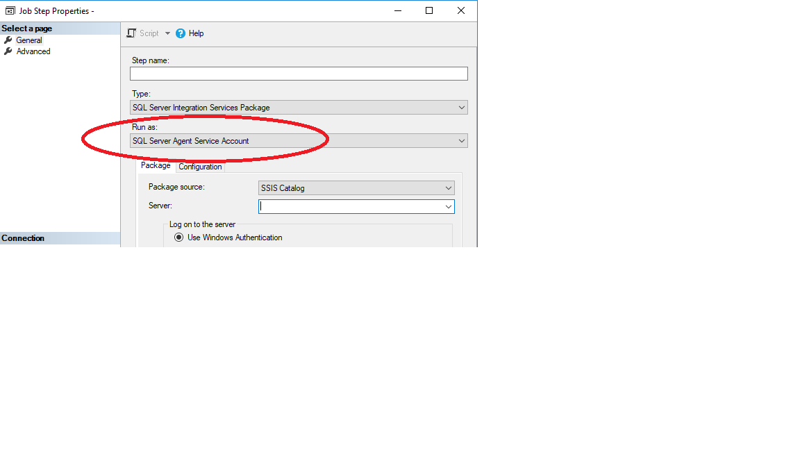 SSIS package is not Running after deployment