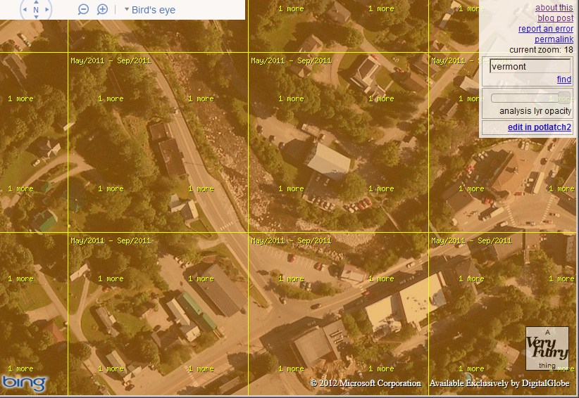 Bing Map Fly Dates
