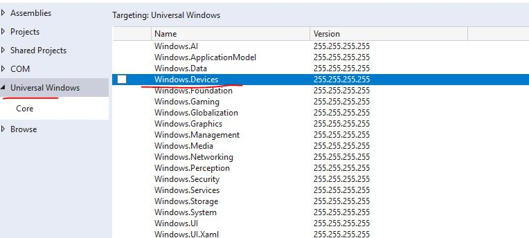 How to call Windows Devices Bluetooth in WPF app