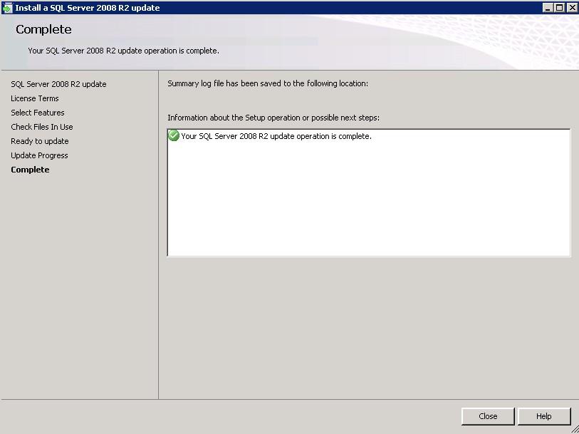 SQL Server 2008 R2 SP3 and GDR service pack